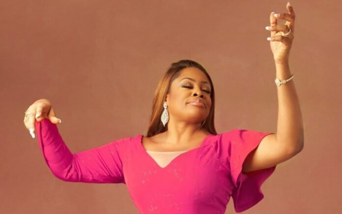Sinach made history by winning Dove Awards Song of The Year with Way Maker